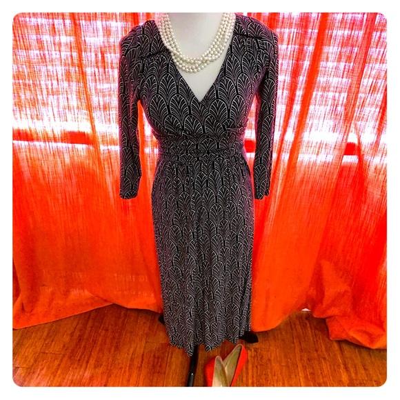 Anthropologie Dresses & Skirts - Anthropologie Maeve patterned midi Dress Sz Small